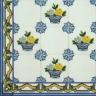 TMP 3905 Portuguese handmade majolica tile