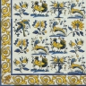 TMP 3910 Portuguese hand painted decorative tile