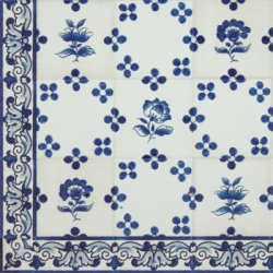 TMP 3912 Portuguese hand painted decorative tile