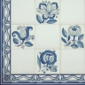 TMP 3913 Portuguese hand painted decorative tile