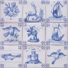 ASK 3917 Portuguese antique tile designs