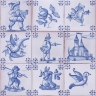 ASK 3918 Portuguese antique tile designs