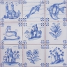 ASK 3919 Portuguese antique tile designs