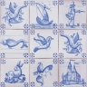 ASK 3920 Portuguese antique tile designs