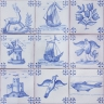 ASK 3922 Portuguese antique tile designs