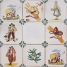 ASK 3923 Portuguese rural tile designs