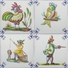 ASK 3924 Portuguese antique tile designs