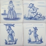 ASK 3925 Portuguese antique tile designs