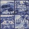 ASK 3928 Portuguese antique tile landscapes