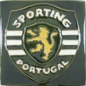 ASK 3934 SCP Sporting Club enameled tile