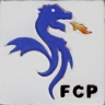 ASK 3935 FCP OPorto Club enameled tile