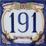 ASK 3939 House number letter tile
