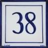 ASK 3940 House number letter tile