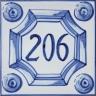 ASK 3941 House number letter tile