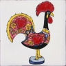 ASK 3943 Portuguese traditional rooster tile
