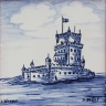 ASK 3957 Portuguese Belem Tower tile