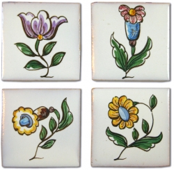 ASK 3975 Portuguese miniatures tile designs