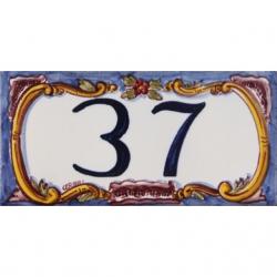 ASK 3978 House number letter tiles