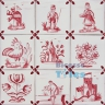 ASK 3984 Portuguese antique tile designs