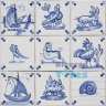 ASK 3985 Portuguese antique tile designs