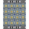 4601 Islamic Spanish XVI Cuenca Tile