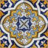 2511 Portuguese handmade majolica tile