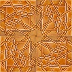 ASK 5722 Moorish enameled cuenca tiles