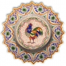 ASK 7205 Portuguese majolica painted plate