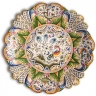 ASK 7210 Portuguese majolica painted plate