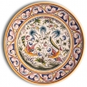 ASK 7215 Portuguese majolica painted plate