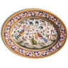 ASK 7218 Portuguese majolica painted plate