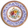 ASK 7231 Portuguese majolica painted plate