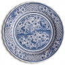 ASK 7235 Portuguese majolica painted plate