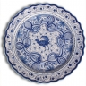 ASK 7236 Portuguese majolica painted plate