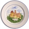 ASK 7239 Portuguese majolica painted plate