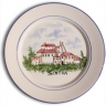ASK 7240 Portuguese majolica painted plate