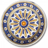 ASK 7245 Portuguese majolica painted plate