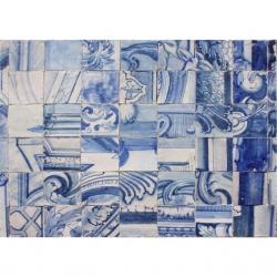 ASK 8013 Portuguese antique tiles compositions XVII