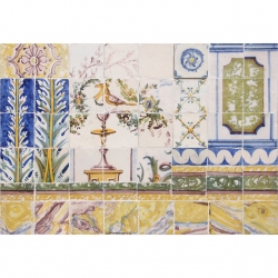 ASK 8014 Portuguese antique tiles compositions