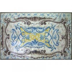 8006 Portuguese antique tiles panel XVIII