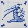 ATD004 XVII Century Antique Blue Drawings