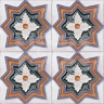 AVK6001 Antique Arab enameled tiles 10cm