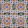 AVK6005 Antique Arab enameled tiles 10cm
