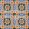 AVK6006 Antique Arab enameled tiles 10cm