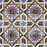 AVK6009 Antique Arab enameled tiles 14cm