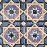 AVK6010 Antique Arab enameled tiles 10cm