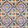 AVK6011 Antique Arab enameled tiles 10cm