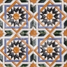 AVK6012 Antique Arab enameled tiles 10cm