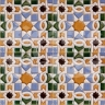 AVK6014 Antique Arab enameled tiles 10cm
