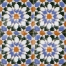 AVK6016 Antique Arab enameled tiles 10cm